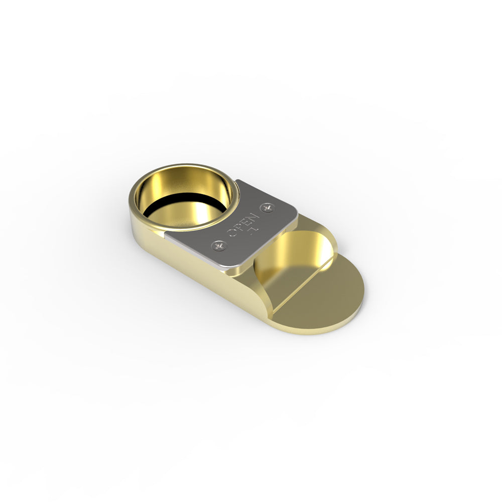 The Capper - Bottle Opener & Resealer - Gold
