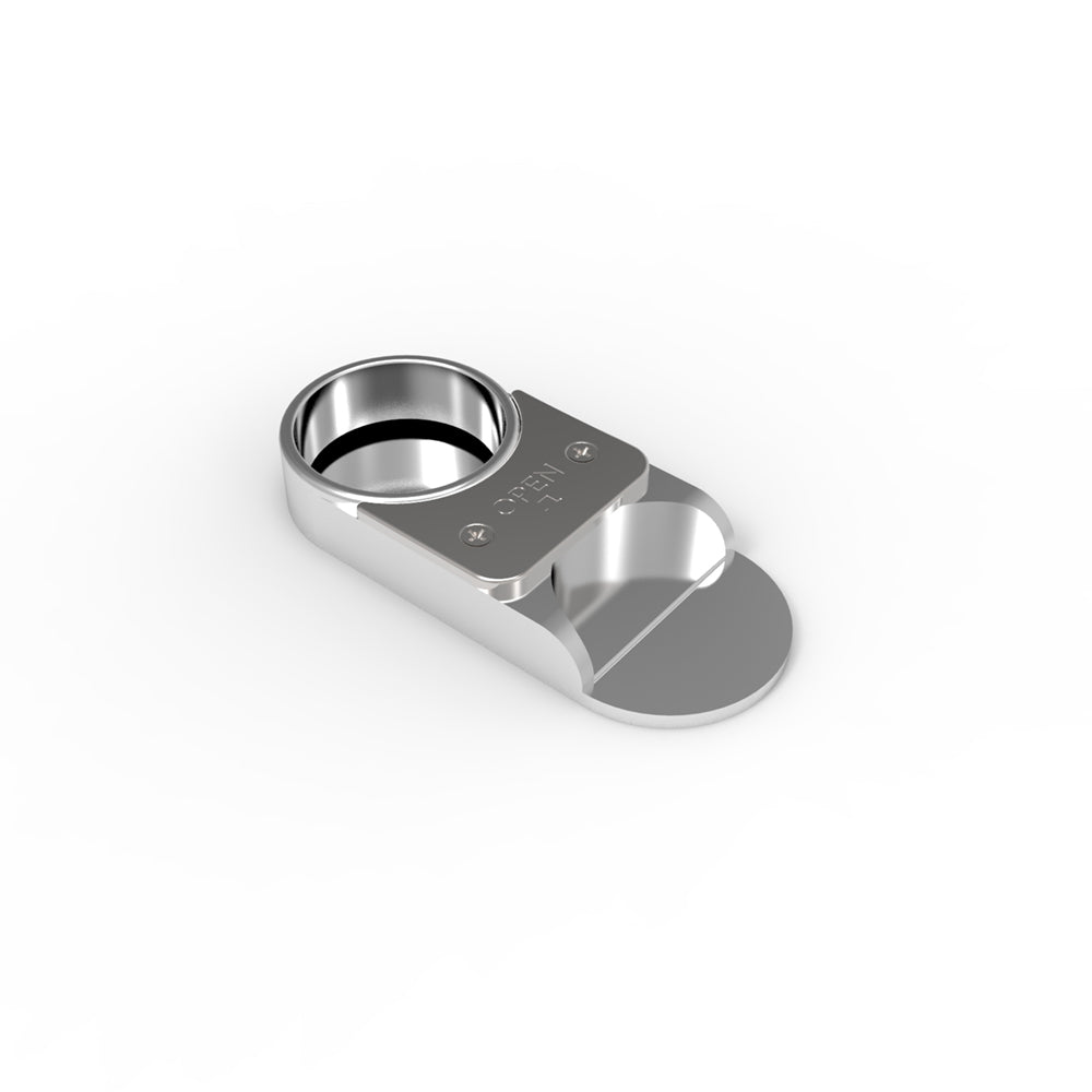 The Capper - Bottle Opener & Resealer - Silver