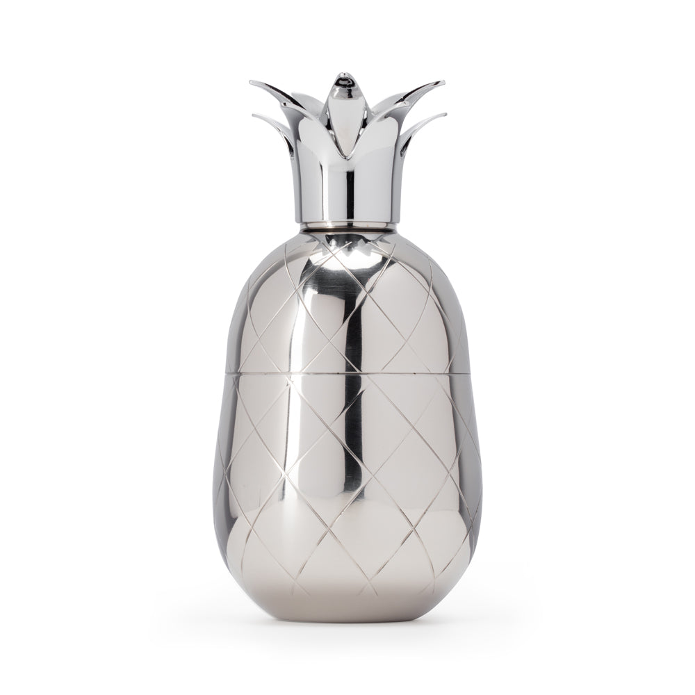 Pineapple Cocktail Shaker - Silver