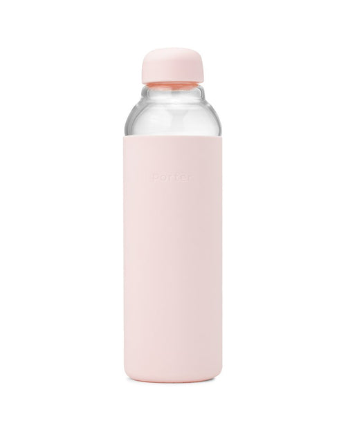 Porter - Water Bottle Glass - Blush