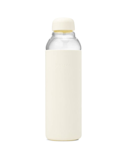 Porter - Water Bottle Glass - Cream