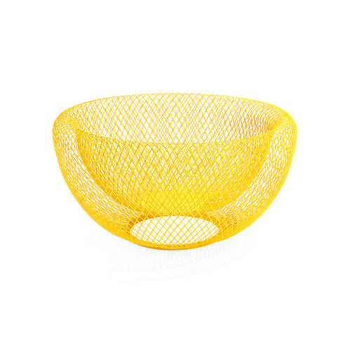 Bowl Wire Mesh - Yellow