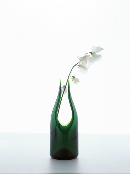 tranSglass - Cut Vase - Polish
