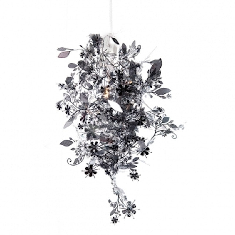 Garland Lamp - Black Chrome