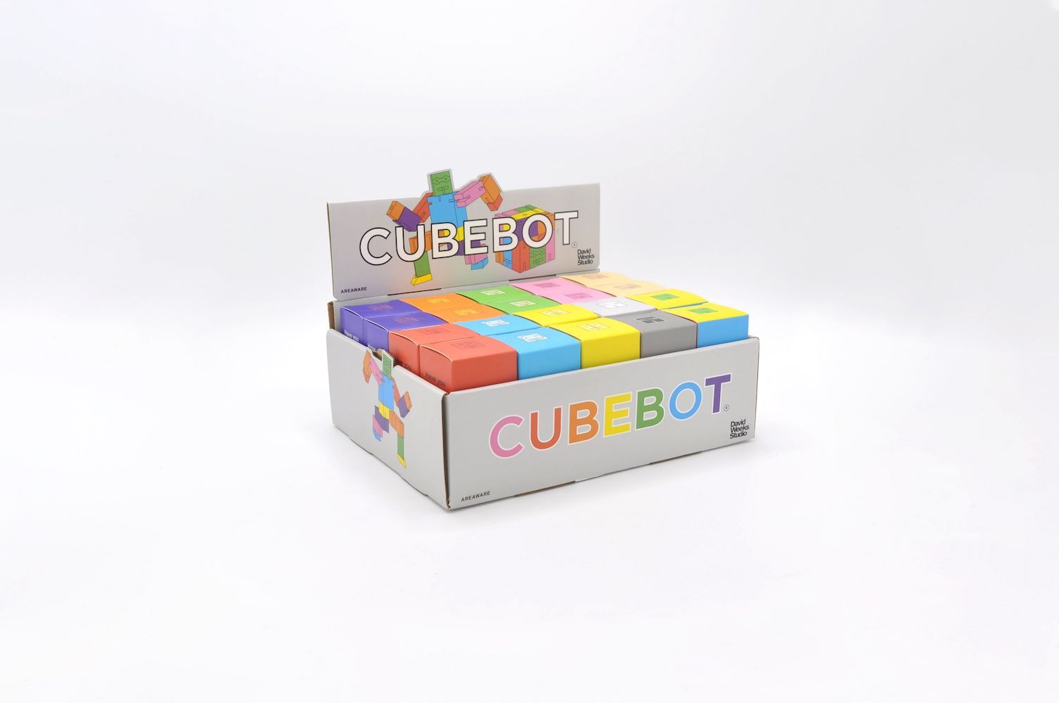 Cubebot - Micro - Mixed Colors - POP Display 40 pieces