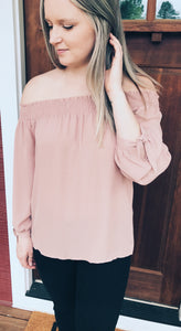 Audrey Off The Shoulder Top
