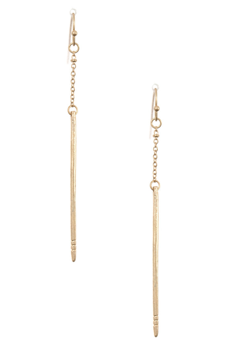SHEILA GOLD EARRINGS