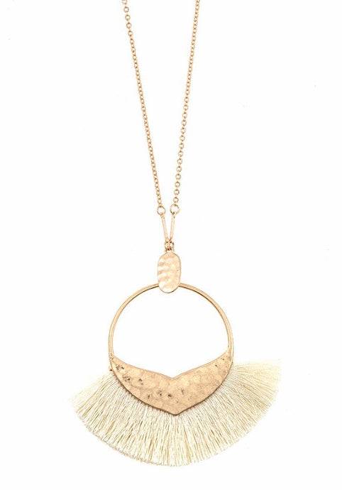 LYDIA TASSEL NECKLACE