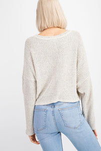 EMERY CROP SWEATER