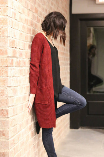 Long Knit Cardigan (more color options)