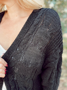 COZY NIGHTS KNIT CARDIGAN