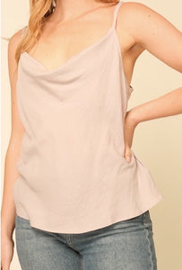 PRETTY LITTLE THING CAMI- TAUPE