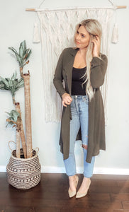 CHANDLER DRAPE JACKET