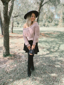 ELSA FRINGE SWEATER