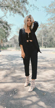 KEEP IT MOVING BLAZER - BLACK