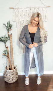 ABBI DUSTER CARDIGAN - 2 for $30 mix & match