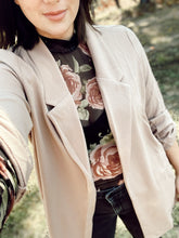 KEEP IT MOVING BLAZER - TAUPE