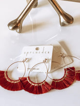 LIVI FRINGE EARRINGS- MULTIPLE COLORS