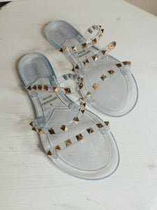 HERE FOR THE JOURNEY SANDALS