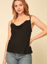 PRETTY LITTLE THING CAMI- BLACK
