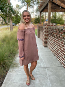 REECE OFF THE SHOULDER DRESS