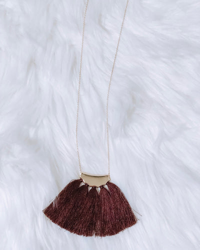 RILEY TASSEL NECKLACE