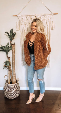 TATUM TEDDY COAT