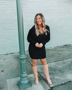 NIGHTS LIKE THIS SWEATER DRESS