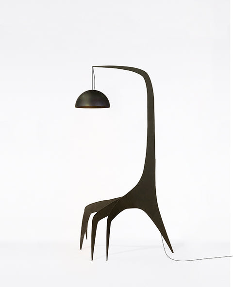 FINDS - Kinetic Floor Lamp - Black