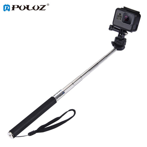 PULUZ  Portable Selfie Stick Hand Held Extendable Adjustable Multi-angle For Taking Photos Monopod For GoPro Camera