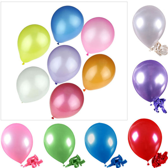 (FS)100pcs/pack Quality Latex Balloons  Birthday Celebration wedding Party Decorative Balloon