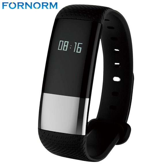 Fornorm Waterproof Dynamic Heart Rate Blood Pressure Sleep Tracker