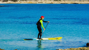 How to Paddle a SUP Board Straight