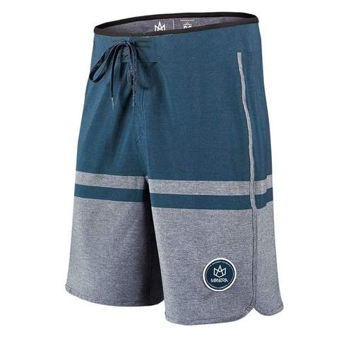 Our Manera Haapiti Board Shorts in slate.