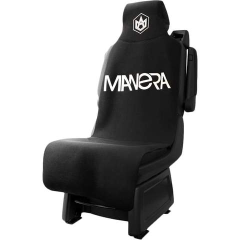 Our Neoprene Manera Car Seat Cover in black