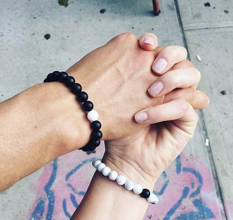 Distance Bracelets (2 Pieces)
