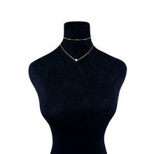 Loveline Choker Necklace (Gold, Silver)