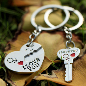 Keychain Set for Couples