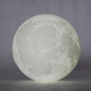 3D Print LED Moon Light Lamp