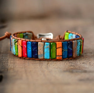 Color Burst Positivity Bracelet
