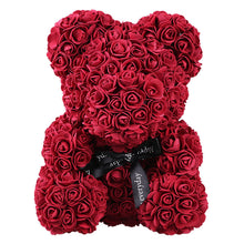 Valentine's Rose Teddy Bear