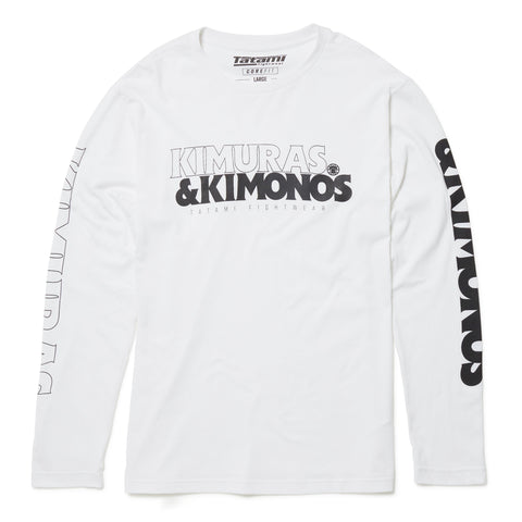 Kimuras & Kimonos Long Sleeve T-Shirt - White