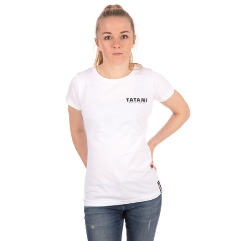 Ladies Tiger Style T-Shirt - White