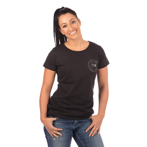 Ladies Iconic T-Shirt - Black