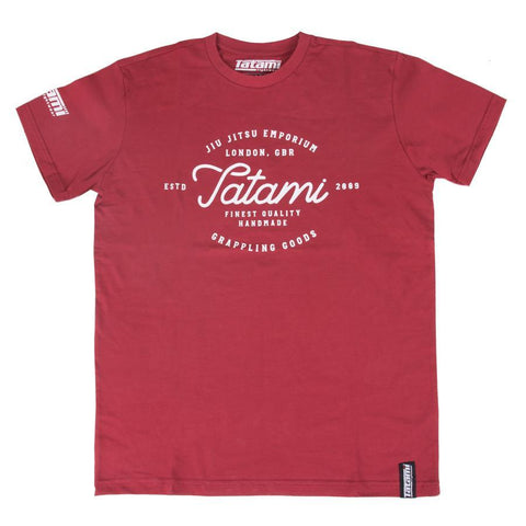 Original Burgundy Jiu Jitsu T-Shirt
