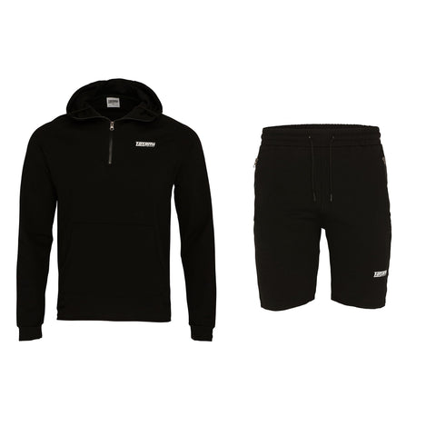 Absolute Tracksuit (Hoodie and shorts) - Black