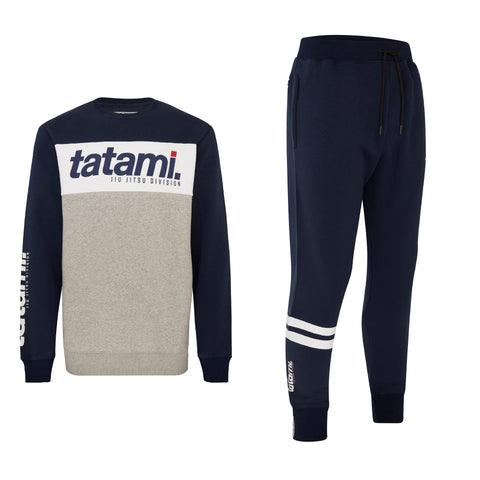 Base Tracksuit (sweater and Joggers) - Navy