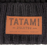 Folded Beanie Hat - Black