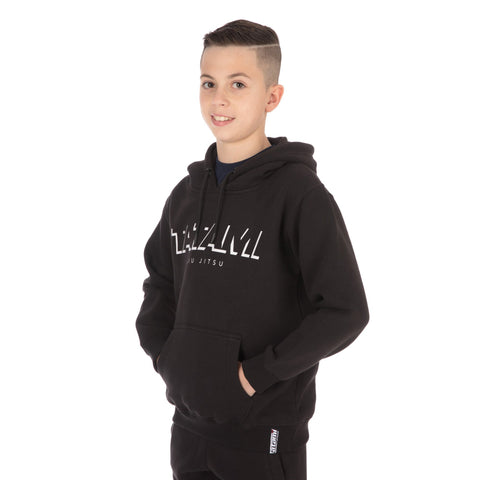 Kids Shadow Tracksuit (Hoodie and Joggers) - Black
