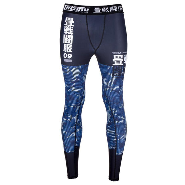 Essential Camo Spats - Blue